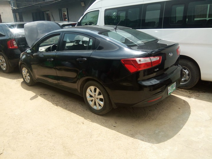 2012 kia rio with full option autos nigeria. Black Bedroom Furniture Sets. Home Design Ideas