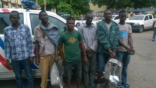 RRS Arrests Suspected Thieves Of Ambode's Light-Up Cable (Photo)