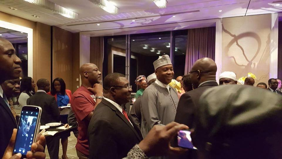 See What Senator Dino Melaye Wore To A Cocktail Event In Switzerland (Photos)