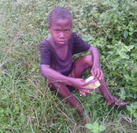 Image result for How this 6yr old boy survived in the bush for one year to avoid 'witch killers' in Akwa Ibom (Photos)