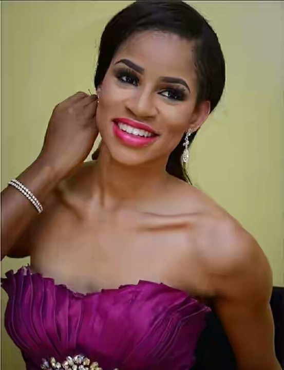 She is a Nigerian model and MBGN 2014 winner.