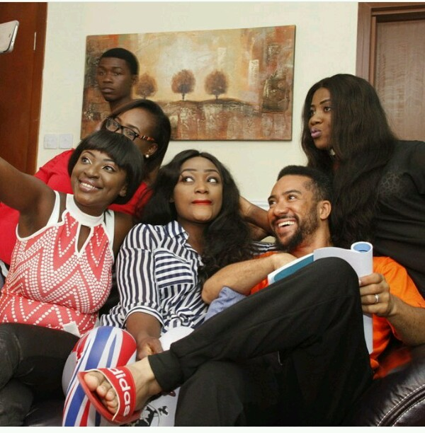 Yvonne Jegede Gushes About Being On Set With Majid Michel For The First Time