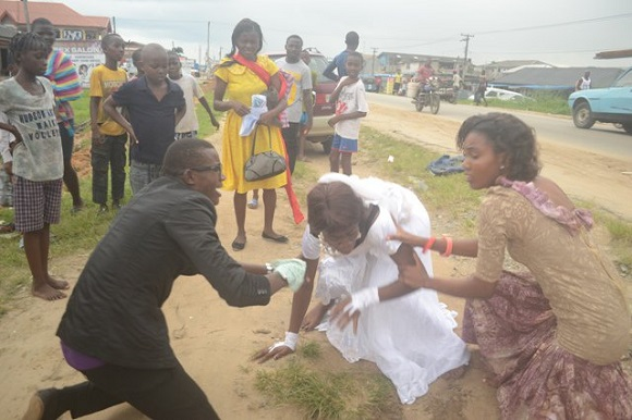 It's drama in Delta State as a wedding reception ended half-way, as the bride announced she was no longer interested in the few-hours-old marriage.