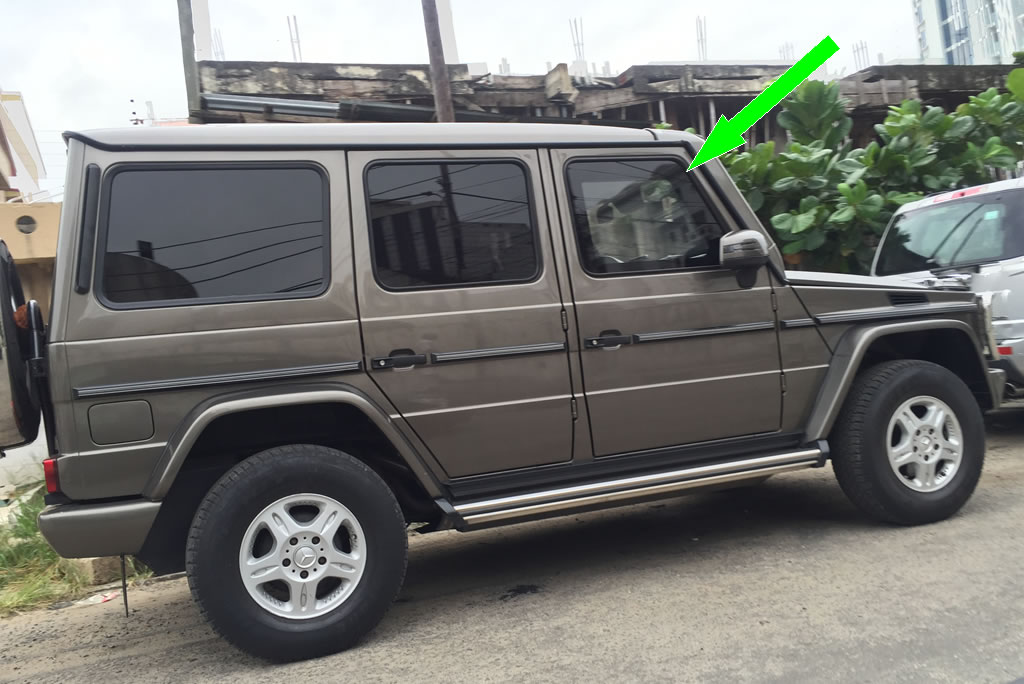 5 Ways To Identify Bullet Proof Cars On Nigerian Roads Dab Ng
