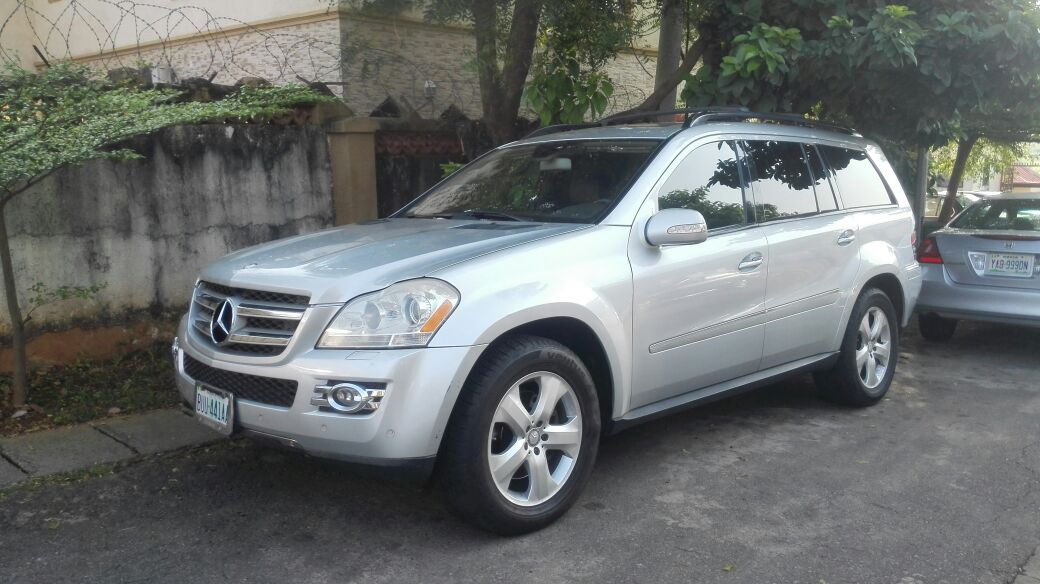 Sold mildly used 2008model mercedes benz gl450 4matic for Used mercedes benz gl450 for sale