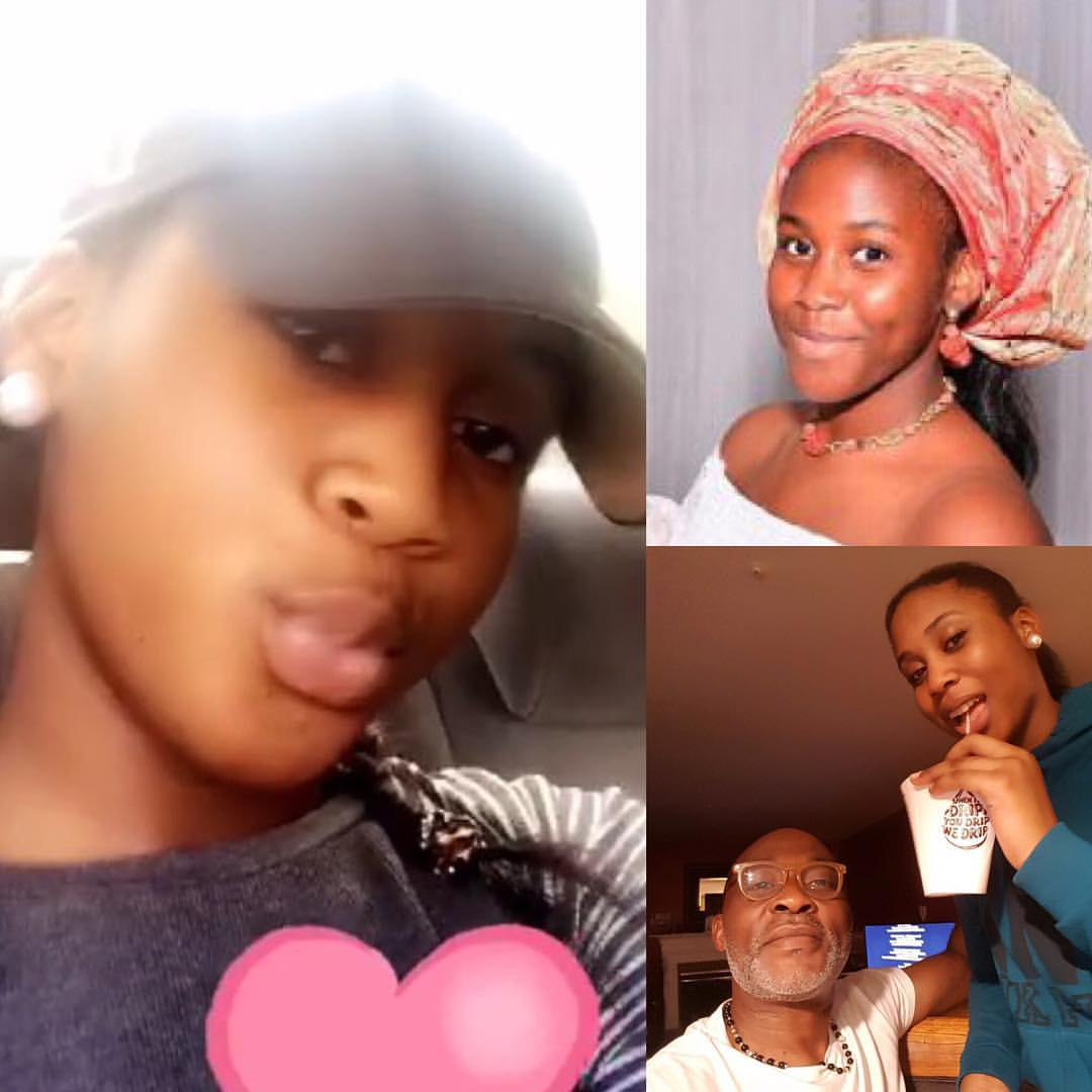 See The Strict Rules Super Star Actor, RMD, Gave His Daughter As She Turns 14 (Photos)