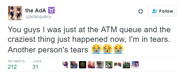 WICKED GENERATION!!!! SEE HOW A YOUTH CORPER WAS DUPED AT ATM BOOTH WHILE TRYING TO BEAT LONG QUEUE