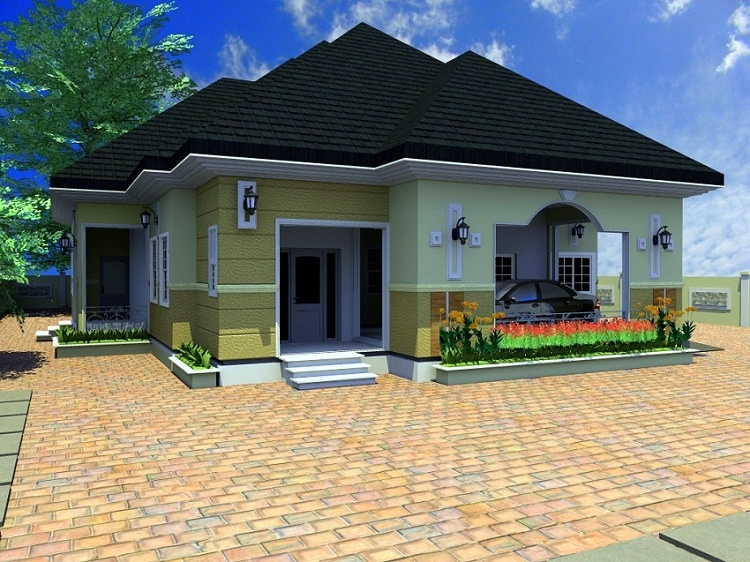 Architectural designs for nairalanders who want to build for Four room house design