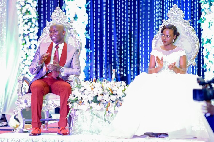 Pastor In TB Joshua's Church In Uganda Throws A Lavish Wedding, See