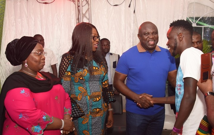 Ambode Visited By AFRIMA And Africa Union Delegates