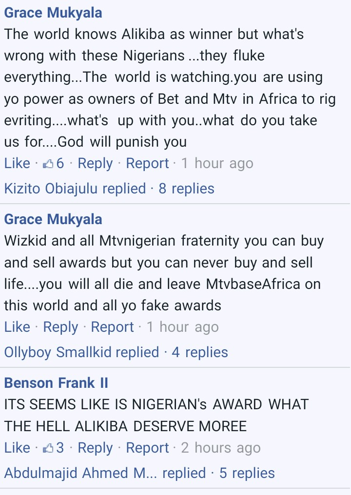 MTV EMA Awards: See What Tanzanians Are Saying About Wizkid, Nigerians React