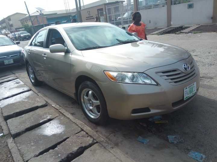 tokunbo grade extrememly clean registered toyota camry 2008 model autos n. Black Bedroom Furniture Sets. Home Design Ideas