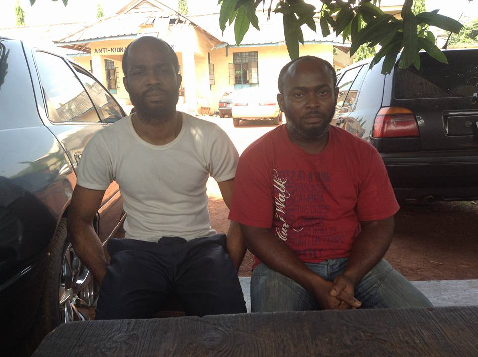 Scammers Who Impersonated Enugu Deputy Governor On Facebook Nabbed (Photo)