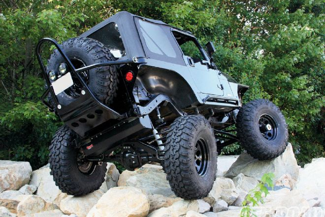 If You Think The Road To Your House Is Bad, I Found A Ride For You. Re:  Pictures Of Jeep Wrangler Going Offroad ...