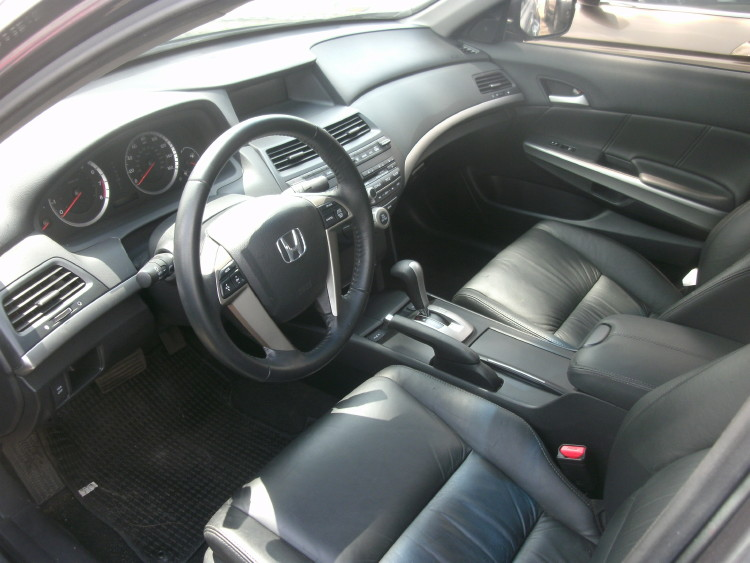2009 Honda Accord Ex L Leather Interior 3 5l V6 Engine