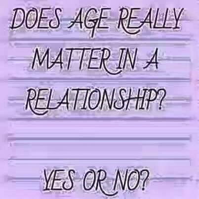 Does age matter in love and relationships