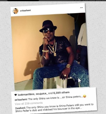 Oritsefemi Shades Quilox Boss, Shina Peller, After His Fight With A Bouncer
