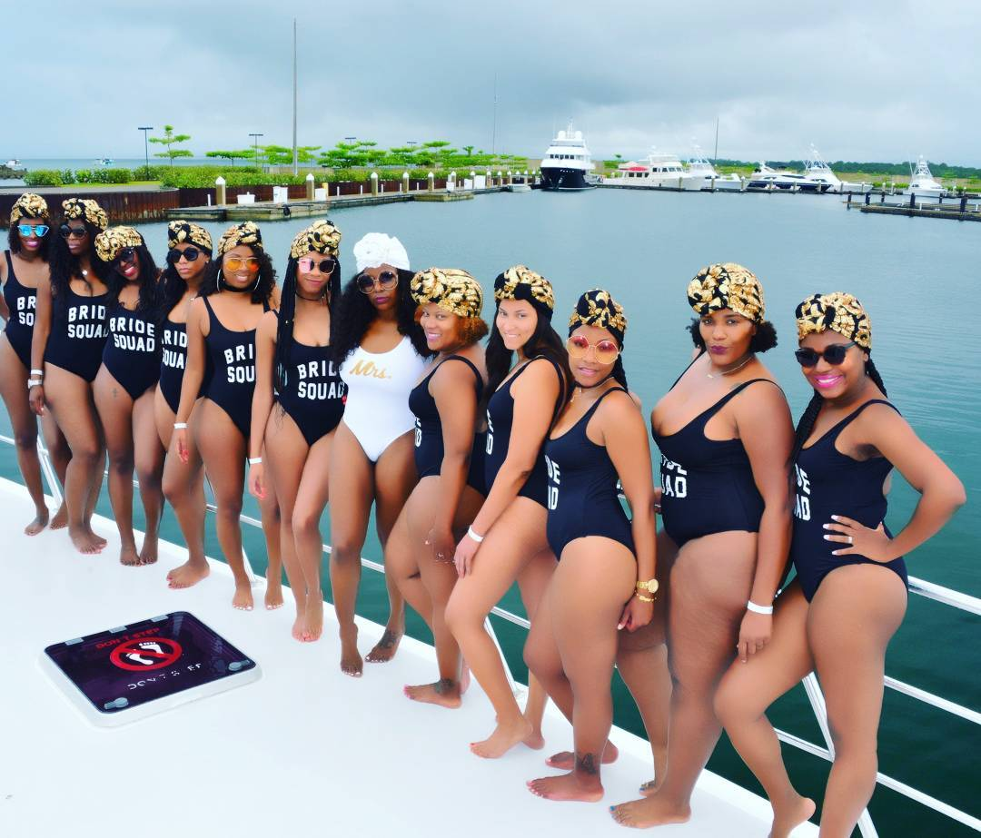 Marvelous Photos Of Bridal Train In Swimsuits That Got People Talking   Romance    Nairaland
