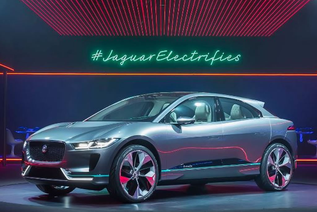 Awesome Jaguar IPACE Revealed At Los Angeles Auto Show  Car Talk