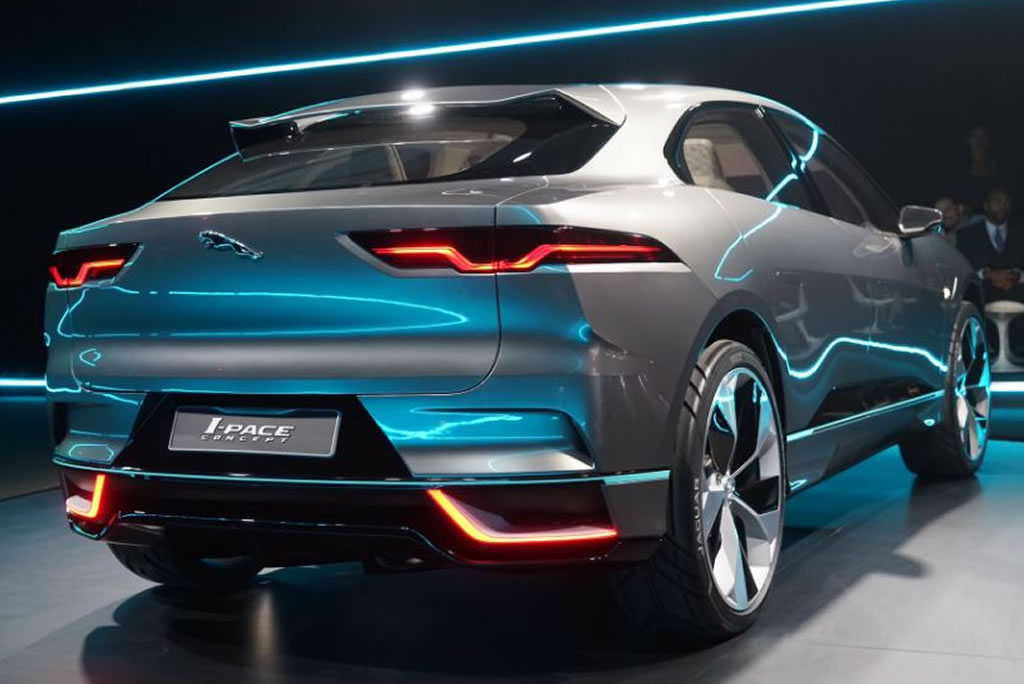 Model Jaguar IPACE Revealed At Los Angeles Auto Show  Car Talk