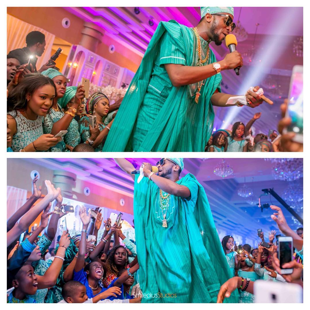 "Image result for ThrowBack Wednesday : See How D'banj & Olamide ""Shut  Down"" This Wedding Reception With  Their Performance"