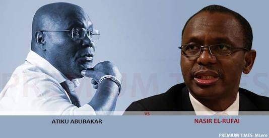 "El-Rufai Blasts Atiku: ""You Are A Liar, I Dare You To Go To U.S."""