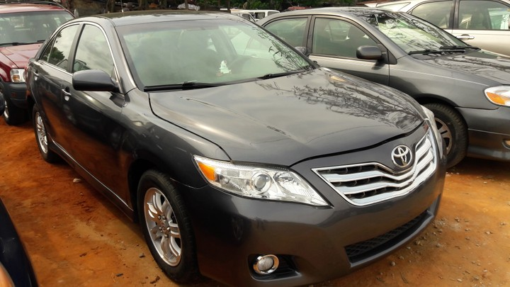 2010 toyota camry tokunbo for sale autos nigeria. Black Bedroom Furniture Sets. Home Design Ideas