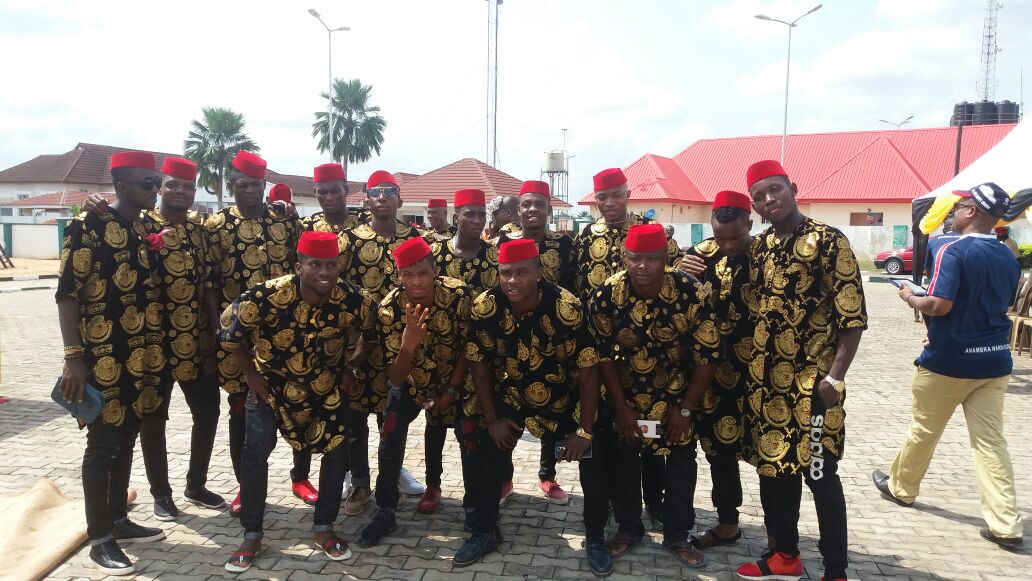 See The Attire FC Ifeanyi Ubah Players Wore For Their FA Cup Trophy Parade