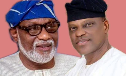 Image result for Jegede no longer a factor in Ondo poll - Akeredolu