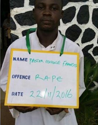 "Pastor Rapes Teenager During ""Anointing"" In Ogun As She Passes Out (Photo)"
