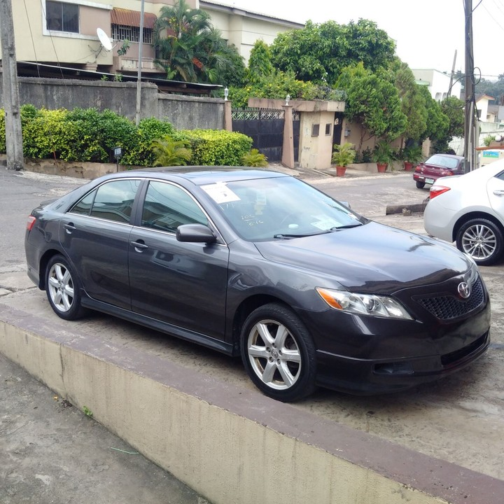 2units of mint tokunbo 2008 toyota camry sport edition price autos nigeria. Black Bedroom Furniture Sets. Home Design Ideas