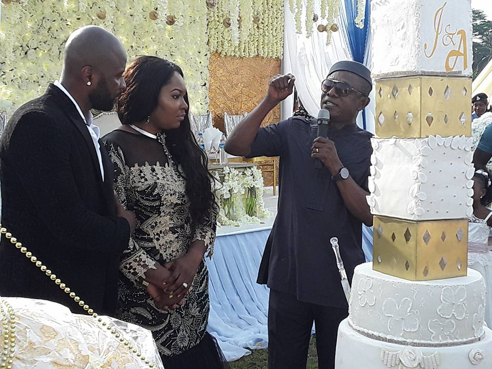 COMRADE ATEKE TOM'S DAUGHTER WEDS IN OKIRIKA, RIVERS STATE – PETE EDOCHIE, NKEM OWOH OTHERS ATTEND (PHOTOS)