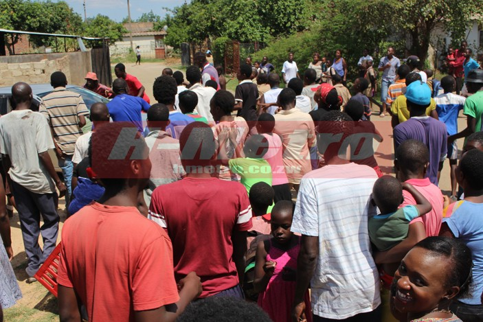 Pastor Publicly Beaten & Humiliated For Impregnating His Follower (Pics)