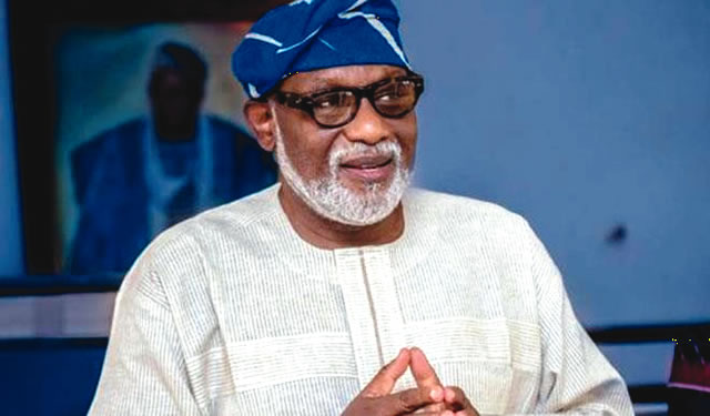 Congrat!! Rotimi Akeredolu Is Ondo State New Governor (See Released Results)