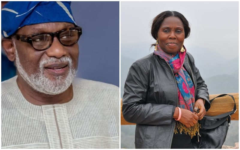 Image result for Check Out Throwback Wedding Photo Of Ondo Governor Akeredolu & Wife In 1981