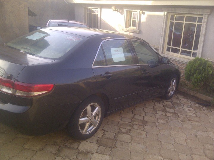 Neatly Used Honda Eod_abuja_900k - Autos - Nigeria