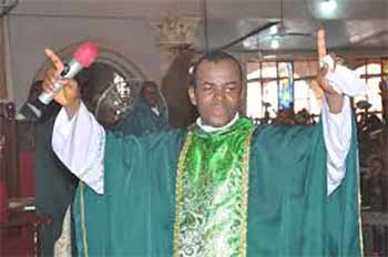 """Don't Blame President Buhari For Hunger In Nigeria"" – Fr. Mbaka"
