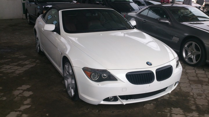 2004 bmw 645ci convertible 4 4l rwd for sale asking price. Black Bedroom Furniture Sets. Home Design Ideas
