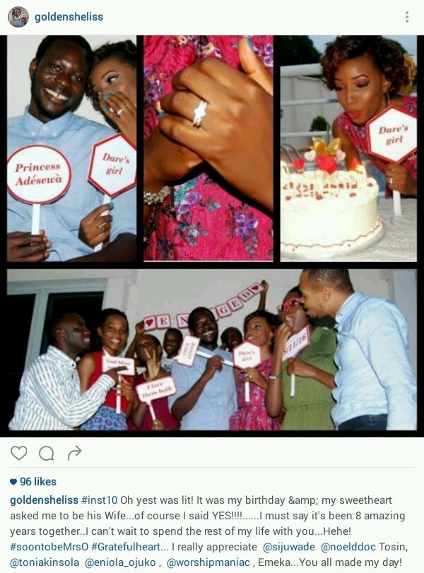 Boyfriend Proposes To His Girlfriend Of 8 Years At Her Birthday