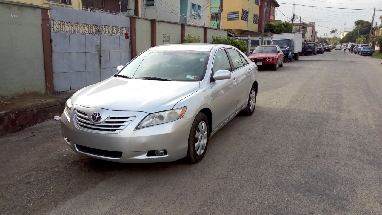 sold lagos cleared 2008 toyota camry call 08169378158 autos. Black Bedroom Furniture Sets. Home Design Ideas