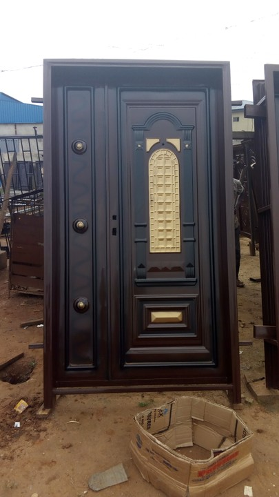 Buy Locally Made Metal Security Doors Call 08182481552 For