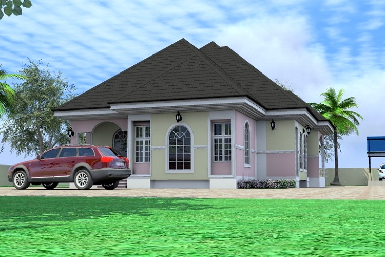 Architectural Designs For Nairalanders Who Want To Build   Four Bedroom  Bungalow Design