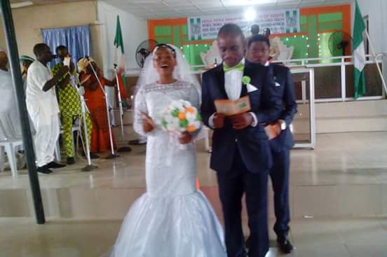 Makeup Free Bride Weds In Deeper Life Church Events 7 Nigeria