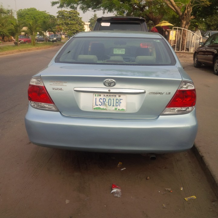 2006 toyota camry registered 850k autos nigeria. Black Bedroom Furniture Sets. Home Design Ideas