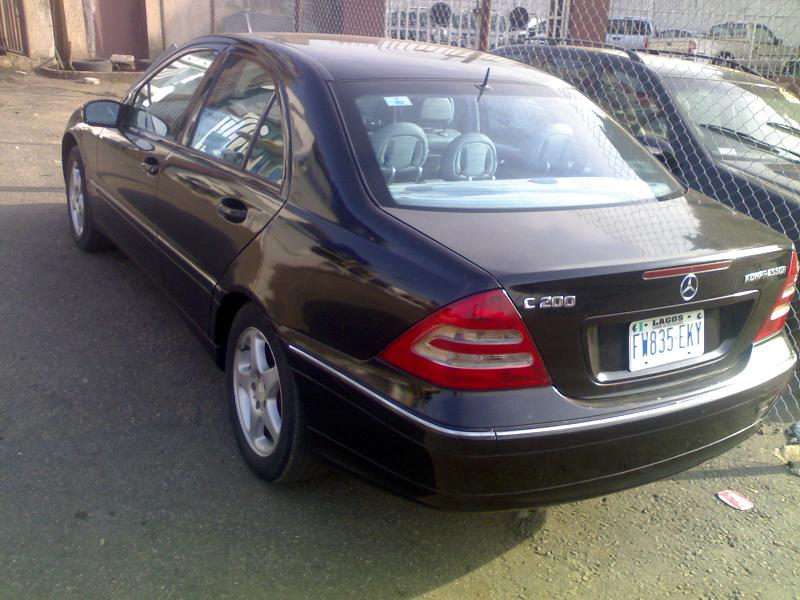 registered mercedes benz 2004 c200 kompressor price autos nigeria. Black Bedroom Furniture Sets. Home Design Ideas