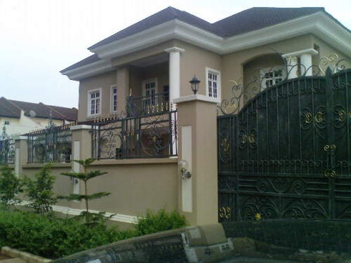 27m naira house for sale in maitama abuja with pictures for Building duplex homes cost
