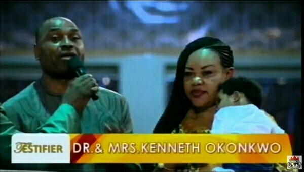 GOD IS ALIVE!! TOP NOLLYWOOD ACTOR KENNETH OKONKWO AND WIFE SHARES ANOTHER POWERFUL TESTIMONY AT SHILOH 2016 (PHOTOS)