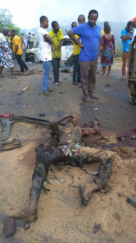 Town And Country Toyota >> Accident At Abudu, 53 People Burnt To Death - Graphic ...