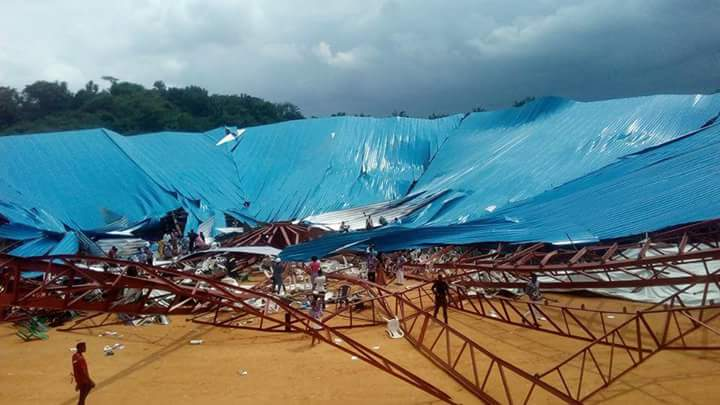 Image result for Church building collapse in Uyo