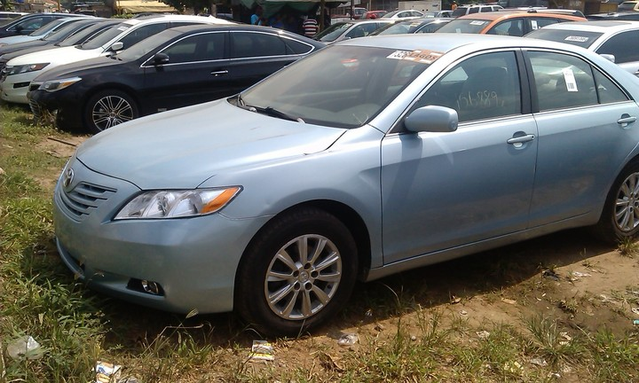 toks 2008 model toyota camry full optionss use for sale autos nigeria. Black Bedroom Furniture Sets. Home Design Ideas